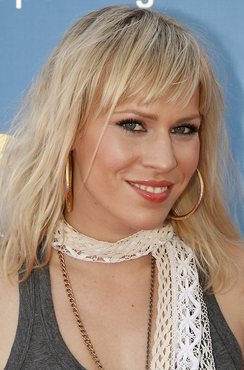 British singer Natasha Bedingfield arrives for the men's final match on the final day of the 2007 US Open tennis tournament in Flushing Meadows, New York, USA, 09 September 2007.