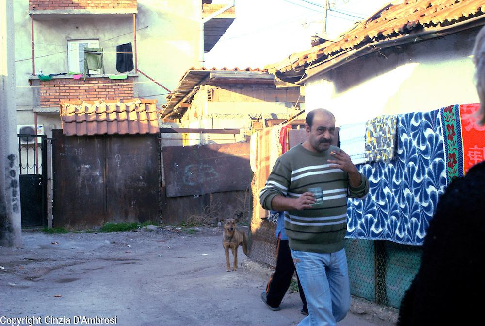 Daily life in Fakulteta Mahala,the largest roma ghetto in Sofia Bulgaria.
