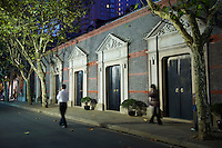 Chine, Shanghai, quartier de Xintiandi, ancienne concession francaise //  China, Shanghai, Xintiandi neighbourhood, French Concession