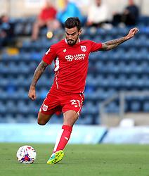 Marlon Pack of Bristol City shoots at goal - Mandatory by-line: Robbie Stephenson/JMP - 09/08/2016 - FOOTBALL - Adams Park - High Wycombe, England - Wycombe Wanderers v Bristol City - EFL League Cup