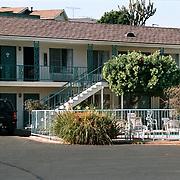 Reis Amerika, Santa Barbara motel