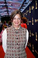 UTRECHT - In de Stadsschouwburg van Utrecht zijn de Gouden Kalveren 2013 uitgereikt. Met hier op de foto  Jacqueline Blom. FOTO LEVIN DEN BOER - PERSFOTO.NU