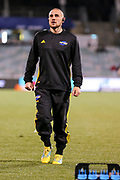 TJ Perenara warms up before the Super Rugby match, Brumbies V Hurricanes, GIO Stadium, Canberra, Australia, 30th June 2018.Copyright photo: David Neilson / www.photosport.nz