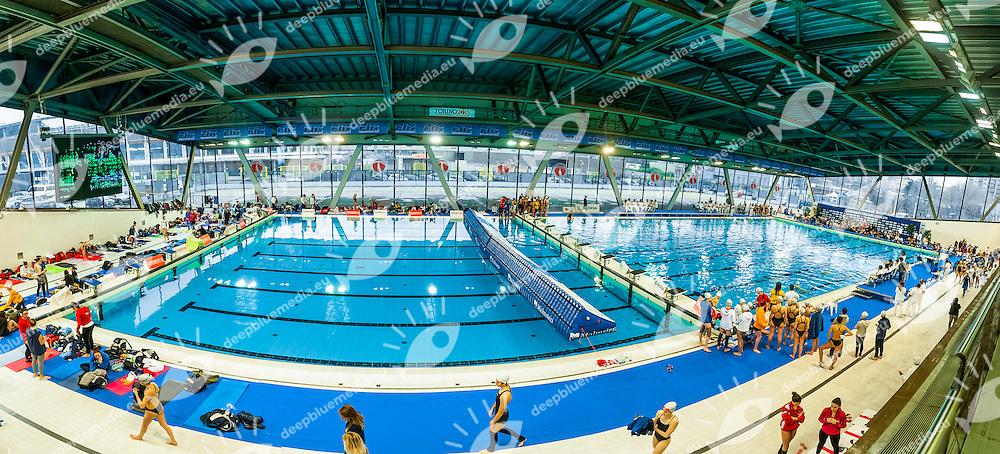 Impianti<br /> FIN Campionati Assoluti Invernali di Nuoto Sincronizzato 2015<br /> Torino, Italia - 6/8 Febbraio 2015<br /> Day01 - 7 Febbraio<br /> Photo Pasquale F. Mesiano/Deepbluemedia/Inside