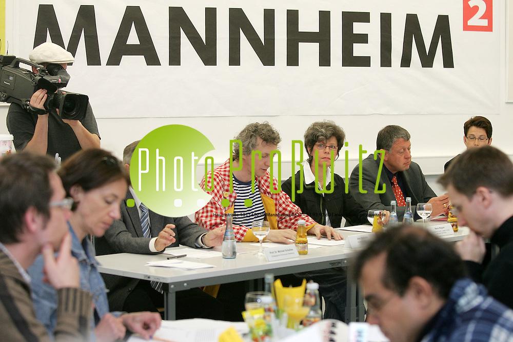 Mannheim. Stadtmarketing veranstaltet eine Pressekonferrenz im Landesmuseum f&uuml;r Technik und Arbeit (LTA). Gr&uuml;ndung des Kindergartenlabor e.V. wird vorgestellt.<br /> <br /> Bild: Markus Pro&szlig;witz <br /> Bilder auch online abrufbar - Neue-/ und Archivbilder. www.masterpress.org