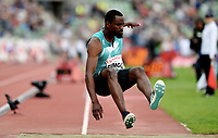 Friidrett , 9. juni 2016 , Diamond League , Bislett Games<br /> Athletics , <br /> Teddy Tamgho , FRA  , triple jump