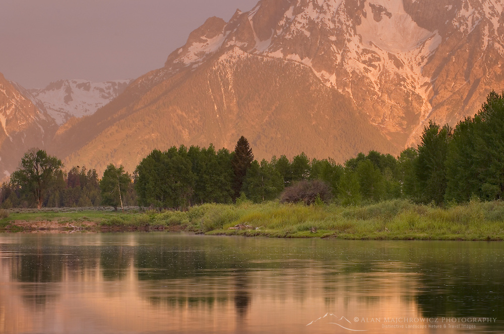 Sunrise at Oxbow Bend, Grand Teton National Park Wyoming