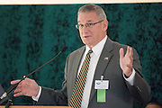 18414Academic & Research Center Groundbreaking September 29, 2007..Trustee Daniel DeLawder (BSEd '71)