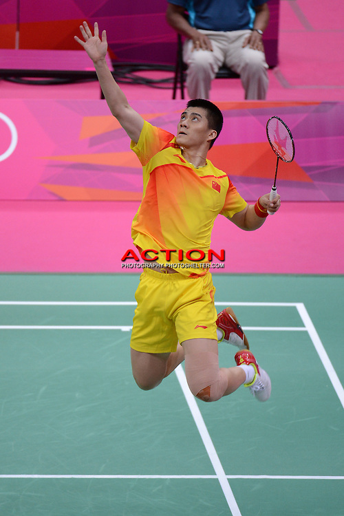 Cai and Fu, China, Mens Doubles, Badminton London Wembley 2012