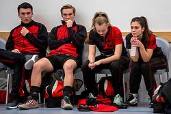 17-03-2018 NED: Korfbal SKF v Antilopen, Maarssen<br /> SKF wint met 20-17 in Maarssen / Verslagenheid bij Antilopen