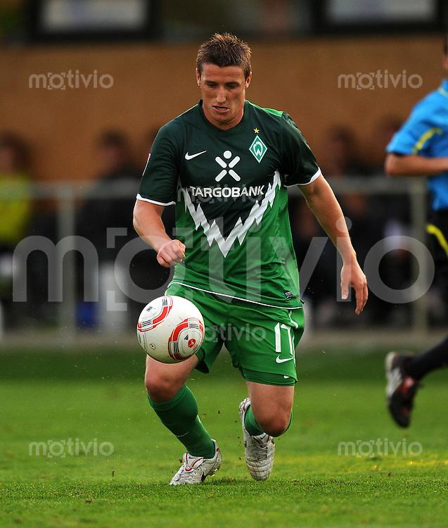 1. Fussball Bundesliga:  Saison   2010/2011 Testspiel  SV Werder Bremen - FK Rad Belgrad   03.08.2010 Said Husejinovic (SV Werder Bremen)