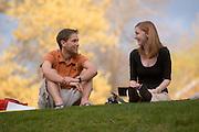 18653Campus Spring...Chris Lykins & Emily Hollida