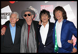 The Rolling Stones at  the opening of an exhibition at Somerset House in London, celebrating 50 years since they performed their first gig at the Marquee Club, Thursday, 12th July 2012  Photo by: Stephen Lock / i-Images
