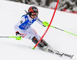 28.12.2017, Hochstein, Lienz, AUT, FIS Weltcup Ski Alpin, Lienz, Slalom, Damen, 1. Lauf, im Bild Stephanie Brunner (AUT) // Stephanie Brunner of Austria in action during her 1st run of ladie's Slalom of FIS ski alpine world cup at the Hochstein in Lienz, Austria on 2017/12/28. EXPA Pictures © 2017, PhotoCredit: EXPA/ Michael Gruber
