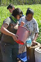 Brazos Pointe Fellowship working with Agua Yaku in Yotau, Santa Cruz, Bolivia