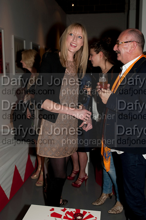 JADE PARFITT, Tunnel of Love. Funfair party The Mending Broken Hearts appeal In aid of the British Heart Foundation. Victoria House, Bloomsbury. London. 17 May 2011. <br /> <br />  , -DO NOT ARCHIVE-© Copyright Photograph by Dafydd Jones. 248 Clapham Rd. London SW9 0PZ. Tel 0207 820 0771. www.dafjones.com.