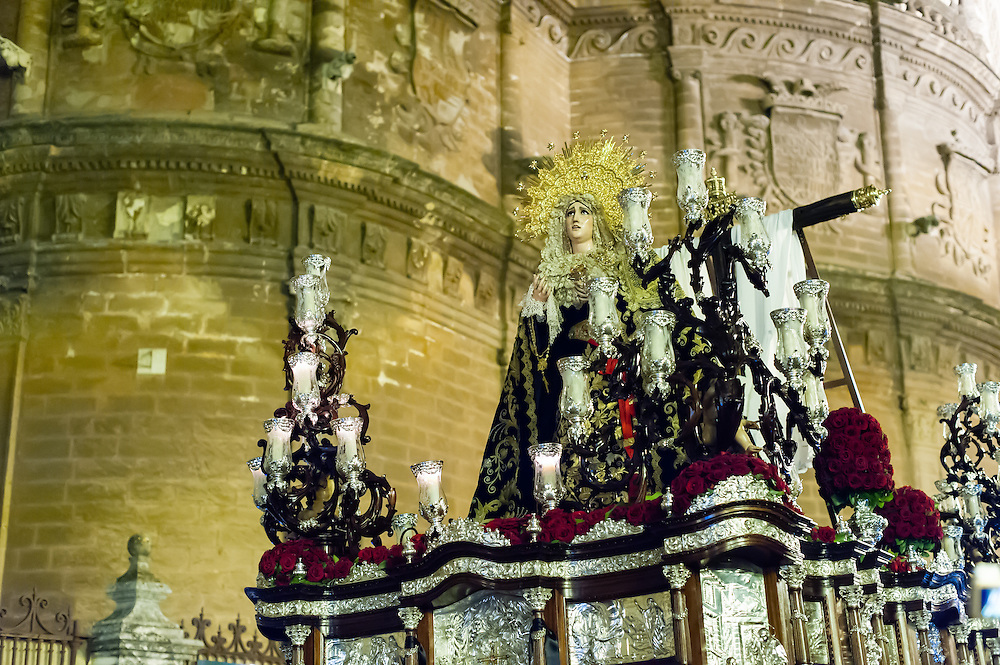 Easter procession in Sevilla (Spain)