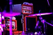 Frankfurt am Main | 29.03.2013..The Balconies, eine Indie-Rock-Pop-Band aos Toronto (Ontario, Canada) live im Zoom (früher Sinkkasten) in Frankfurt am Main. Hier: Orange-Amps der Gitarristin und des Bassisten...©peter-juelich.com..[No Model Release | No Property Release]