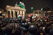 Anti-Trump Palestine Protest, Berlin
