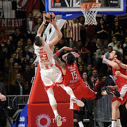 20180126: SRB, Basketball - Euroleague 2017/18, KK Crvena Zvezda MTS Belgrade vs Olympiacos Piraeus