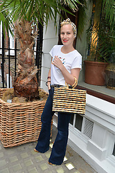 CHARLOTTE DELLAL at the launch of the new collection from Limoland held at Anderson & Sheppard's Haberdashery, 17 Clifford Street,London on 16th June 2014.