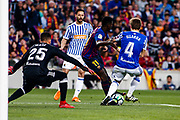 11 Ousmane Dembele from France of FC Barcelona during the Spanish championship La Liga football match between FC Barcelona and Real Sociedad on May 20, 2018 at Camp Nou stadium in Barcelona, Spain - Photo Xavier Bonilla / Spain ProSportsImages / DPPI / ProSportsImages / DPPI