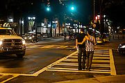 Downtown Charlotte, NC, during the 2012 Democratic National Convention.