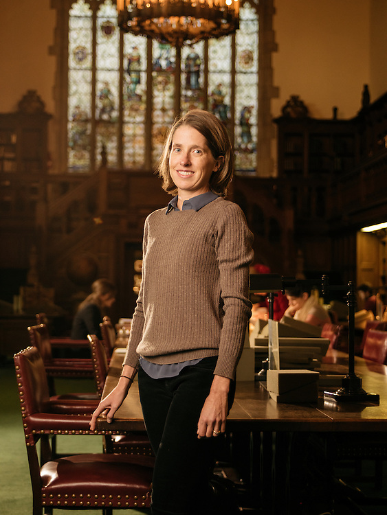Heather Wolfe at the Folger Shakespeare Library in Washington, D.C. on Dec. 20, 2016.