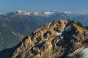 North Cascades seen from Ptarmigan Ridge Trail, Washington