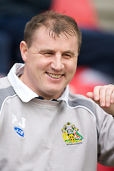 Wigan, England - Sunday, January 21, 2007: Wigan Athletic's manager Paul Jewell before the Premier League match against Everton at the JJB Stadium. (Pic by David Rawcliffe/Propaganda)