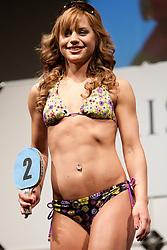 Zala Puncer during event Miss Sports of Slovenia 2012, on April 21, 2012, in Festivalna dvorana, Ljubljana, Slovenia. (Photo by Urban Urbanc / Sportida.com)