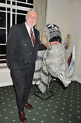 TERRY WAITE at a dinner in aid of the charity Save The Rhino held at ZSL London Zoo, Regents Park, London on 16th October 2012.