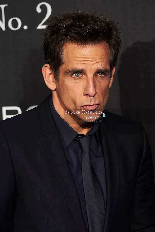 Ben Stiller attend 'Zoolander No. 2' film premiere at Capitol Cinema on February 1, 2016 in Madrid, Spain