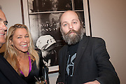 MAIA NORMAN; GAVIN TURK, Opening of Bailey's Stardust - Exhibition - National Portrait Gallery London. 3 February 2014