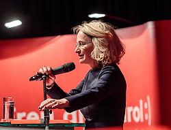 "26.01.2018, Congresspark, Igls, AUT, Tirol-Landtagswahl, Wahlkampfauftakt SPÖ Tirol, SPÖ Tirol ""Die neue SPÖ startet in Wahlauseinandersetzung"", im Bild Elisabeth Blanik (SPÖ-Spitzenkandidatin) // during the election campaign of the Social Democratic Party to the upcoming Tyrolean state election at the Congresspark in Igls, Austria on 2018/01/26. EXPA Pictures © 2018, PhotoCredit: EXPA/ Johann Groder"