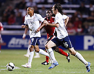 Sasha Kljestan (16) US, Ricardo Clark (4) US. The U.S. Men's National Team defeated Trinidad & Tobago 3-0 at Toyota Park in Bridgeview, IL on September 10, 2008.