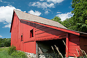 Old Red Barn, Pawlet, Vermont, USA