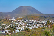 Haria, Valley of 1000 palms, Lanzarote, Canary Islands, Spain