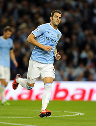 Manchester City's Alvaro Negredo makes his debut  - Photo mandatory by-line: Joe Meredith/JMP - Tel: Mobile: 07966 386802 19/08/2013 - SPORT - FOOTBALL - Etihad Stadium - Manchester - Manchester City V Newcastle United - Barclays Premier League