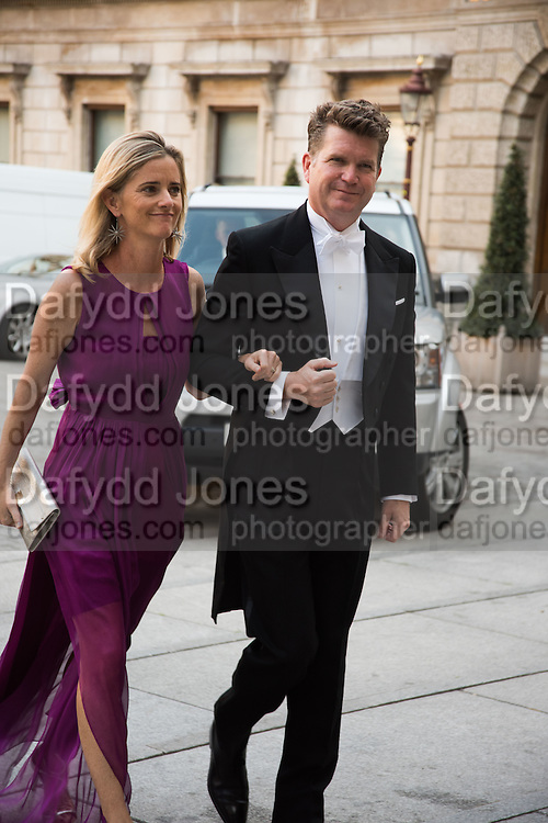 AMERICAN AMBASSADOR TO LONDON; MATTHEW BARZUN; BROOKE BARZUN, Royal Academy Annual dinner, Piccadilly, London. 6 June 2016