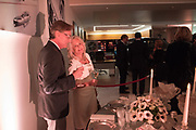 JIM MARTELL; LIZ BREWER, Hubert de Vinols hosts the launch of Tables D'Exception, Rolls Royce Showroom,  Berkeley Sq. London. 29 November 2018