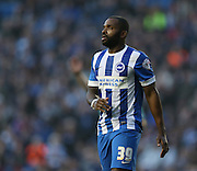 Darren Bent during the Sky Bet Championship match between Brighton and Hove Albion and Fulham at the American Express Community Stadium, Brighton and Hove, England on 29 November 2014.