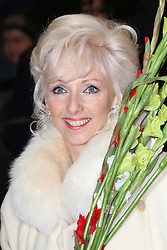 Debbie McGee, Barry Humphries Eat, Pray, Laugh - press night, London Palladium, London UK, 15 November 2013, Photo by Richard Goldschmidt © Licensed to London News Pictures. Photo credit : Richard Goldschmidt/Piqtured/LNP