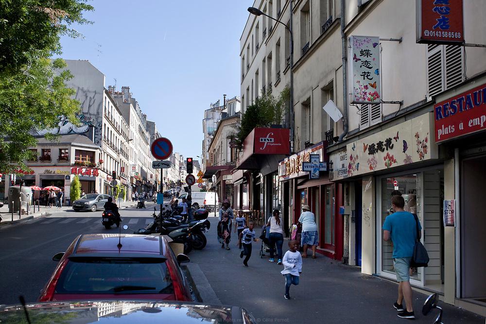 Belleville Bas de la rue de Belleville 75020 Paris