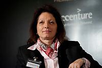 """01 DEC 2010, BERLIN/GERMANY:<br /> Dr. Angelika Dammann, Vorstandsmitglied SAP, Veranstaltung """"CAPITAL Gipfel Generation CEO 2010"""" zum Thema """"DIe Frauen, die Wirtschaft und die Quote"""", Hotel de Rome<br /> IMAGE: 20101201-02-071"""