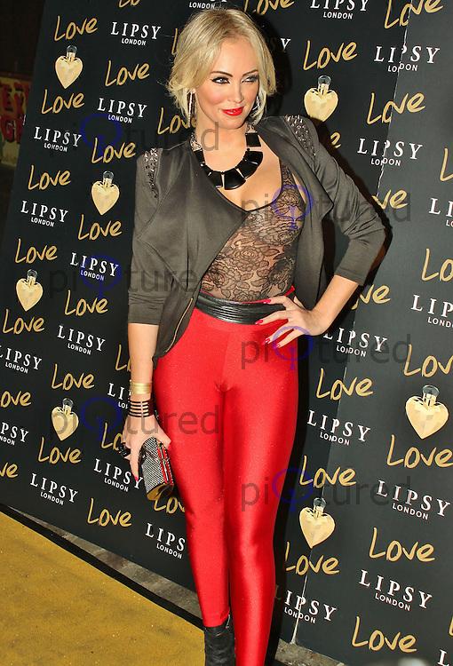 LONDON - November 06: Aisleyne Horgan-Wallace at the Lipsy London Love Launch Party (Photo by Brett D. Cove)
