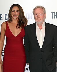 Director Ridley Scott and wife arriving for a special screening of The Counselor, in  London,  Thursday, 3rd October 2013. Picture by Stephen Lock / i-Images