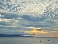 Sunset from the Hyatt Maui Kaanapali