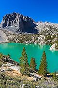 Second Lake and Temple Crag, John Muir Wilderness, California USA