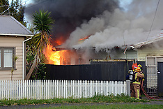 Auckland-Baby suffers smoke inhalation in Fruitvale Road fire